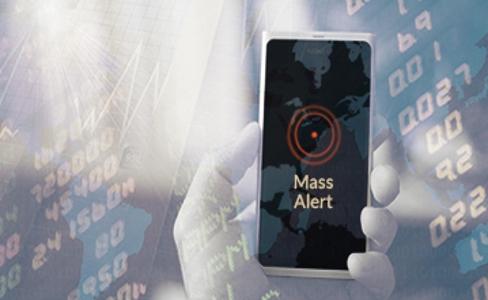 Mass alerts SMS alert system